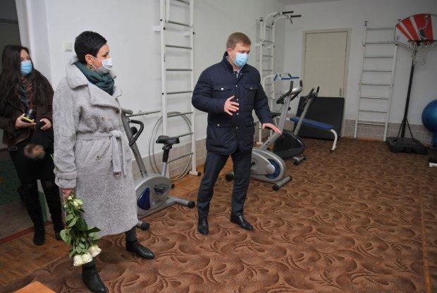 Віталій Коваль ознайомився з роботою центру комплексної реабілітації для осіб з інвалідністю. децентралізація, дозвілля, с.олександрія, семінар, інвалідність