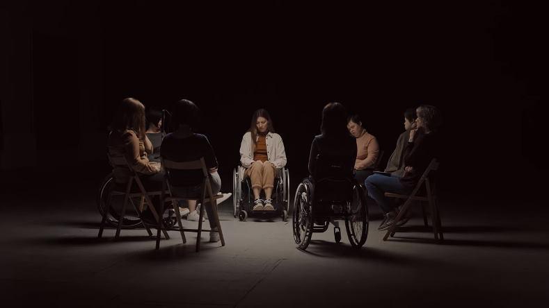 """""""Жінка з інвалідністю – це є жінка!"""" Українки зворушливо звернулися до народу (ВІДЕО). жінка, звернення, проблема, суспільство, інвалідність"""