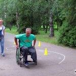 """Світлина. """"Лучшая реабилитация – это спорт"""", – уверены члены городской организации инвалидов """"Преодоление"""". Реабілітація, инвалидность, спорт, Авдеевка, Центр адаптации, АГОИ Преодоление"""