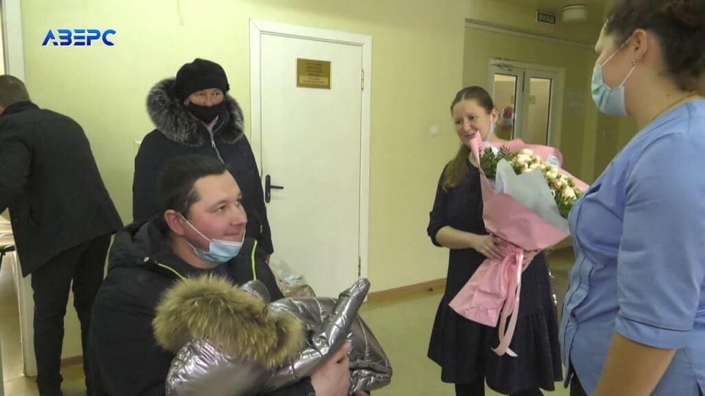 Довгоочікувана радість: волинська сім'я сім років чекала дитину (ВІДЕО). дитина, донечка, немовля, сім'я трибущуків, інвалідний візок