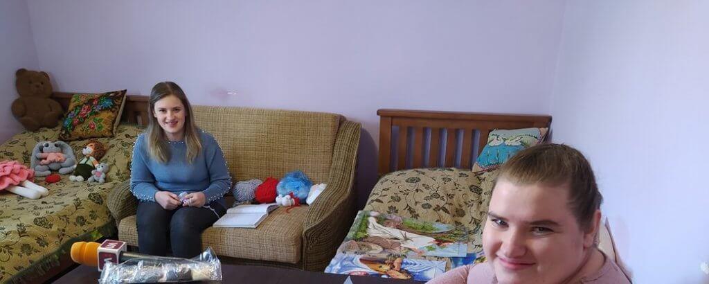 Сестри з Тернопільщини, які хворіють на ДЦП, займаються рукоділлям (ФОТО). дцп, ольга та марія загребельні, діагноз, рукоділля, інвалідність