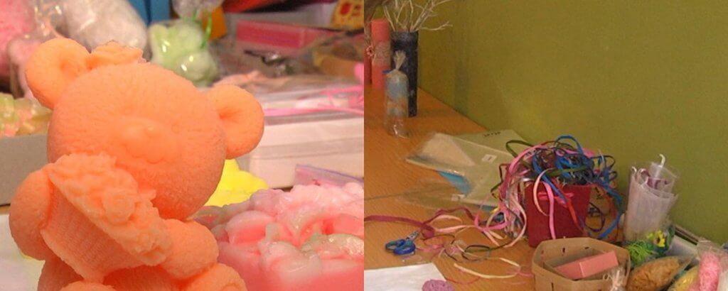 На Донеччині у соціальній майстерні люди з інвалідністю виготовляють мило та свічки (ФОТО). мариуполь, клуб повір у себе, порушення розвитку, соціальна майстерня, інвалідність