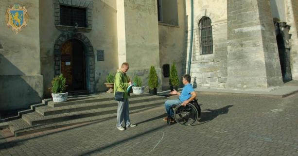 Львівська асоціація розвитку туризму втілює проект для осіб з інвалідністю. львів, доступність, проект, туризм, інвалідність