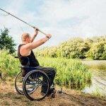 Андрій на візку – чемпіон України зі спортивної риболовлі