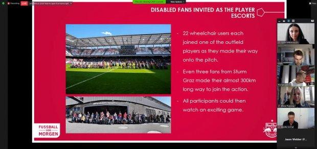Відбулася зустріч мережевої групи фахівців із роботи з уболівальниками з інвалідністю. доступ, зустріч, опитування, футбол, інвалідність