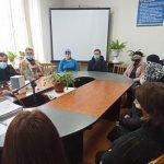 Засідання клубу для осіб з інвалідністю у Рожнятівській районній філії Івано-Франківського обласного центру зайнятості