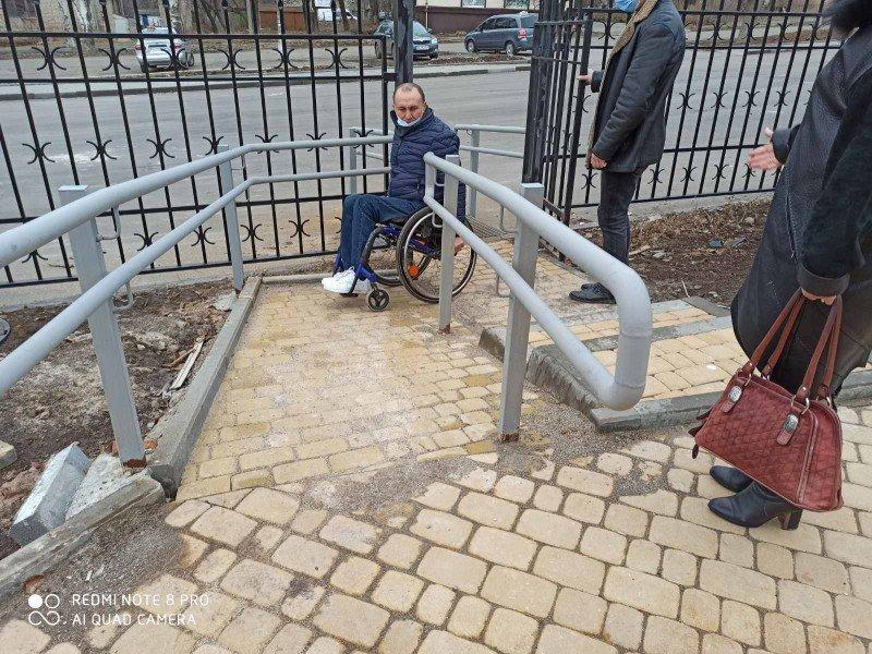 В Бахмуте обследовали новый социальный офис на предмет доступности для людей с инвалидностью (ФОТО). бахмут, доступность, инвалидность, обследование, социальный офис