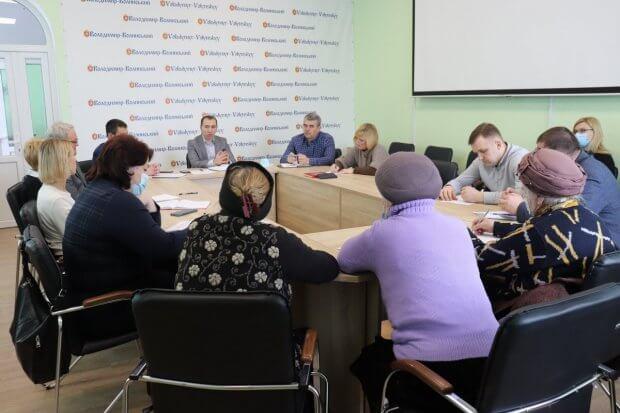 Відбулося перше у 2021 році засідання комітету доступності. володимир-волинський, доступність, забезпечення, засідання, інфраструктура