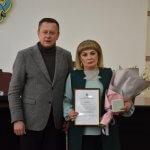 Надії Паламарчук присвоєно звання «Почесного громадянина Краматорська»