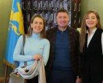 Максим Козицький зустрівся із засновницями першого в Україні інклюзивного ательє (ФОТО). львів, ательє lady di atelier, зустріч, проєкт, інвалідність
