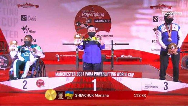 Вінницька пауерліфтерка Мар'яна Шевчук побила рекорд світу, який сама встановила торік. кубок світу, мар'яна шевчук, пауерліфтерка, рекорд світу, спортсменка