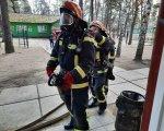 На Донеччині рятувальники проводять протипожежні навчання у пансіонатах та будинках для людей похилого віку та осіб з інвалідністю. донеччина, пансіонат, протипожежне навчання, рятувальник, інвалідність