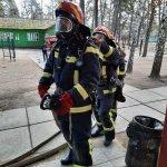 На Донеччині рятувальники проводять протипожежні навчання у пансіонатах та будинках для людей похилого віку та осіб з інвалідністю