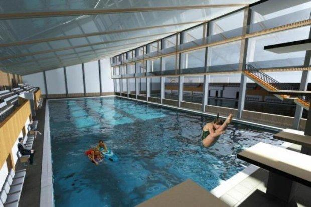 «Нептун» стане самим інклюзивним басейном в Україні. мариуполь, басейн, доступність, реконструкція, інвалідність