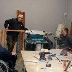 В Никополе помогают людям с инвалидностью получить профессию: интервью с Антоном Серовым