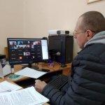 Світлина. В ОДА у режимі відеоконференції обговорили проблеми людей з інвалідністю під час пандемії COVID-19. Закони та права, інвалідність, Івано-Франківськ, COVID-19, пандемія, відеоконференція