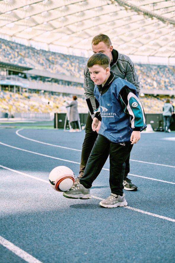 У Києві на Олімпійському проведуть незвичний футбольний матч. київ, олександр зінченко, футбол, чемпіонат, інвалідність