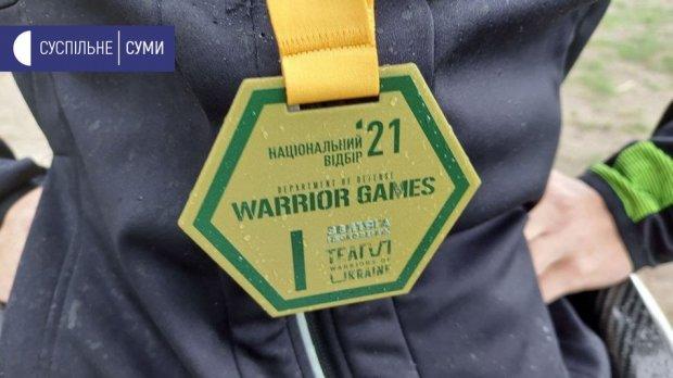 """Сумський ветеран АТО узяв перше місце з пауерліфтингу у національному відборі """"Ігри Воїнів"""". ігор лугина, ігри воїнів, ветеран ато, змагання, пауерліфтинг"""
