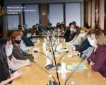 """Марина Лазебна зустрілася з учасницями школи політичної участі для жінок і дівчат з інвалідністю """"Лідерка"""". конвенція оон, лідерка, марина лазебна, зустріч, інвалідність"""
