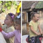 У Маріуполі для дітей з інвалідністю проводять безкоштовні сеанси іпотерапії (ВІДЕО)