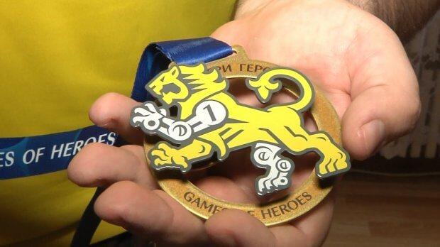 Запорізький ветеран АТО здобув медаль на міжнародних спортивних змаганнях «Ігри героїв». євген олексенко, ігри героїв, ветеран ато, змагання, медаль
