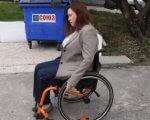 Депутат горсовета Лилия Леонидова провела эксперимент: на инвалидной коляске попыталась доехать до моря. лилия леонидова, инвалидная коляска, инвалидность, пляж, эксперимент