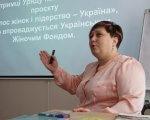 «Гендерний аудит доступності» — інструмент захисту прав жінок з інвалідністю, — Неля Ковалюк. житомирська область, цнап, доступність, семінар, інвалідність