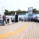 В Одесі відкрили інклюзивний пляж