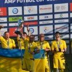 Збірна України з футболу серед осіб з інвалідністю посіла на турнірі у Варшаві друге місце (ФОТО)
