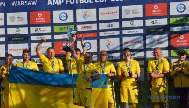 Збірна України з футболу серед осіб з інвалідністю посіла на турнірі у Варшаві друге місце. варшава, ампфутбол, збірна україни, турнір amp futbol cup, інвалідність