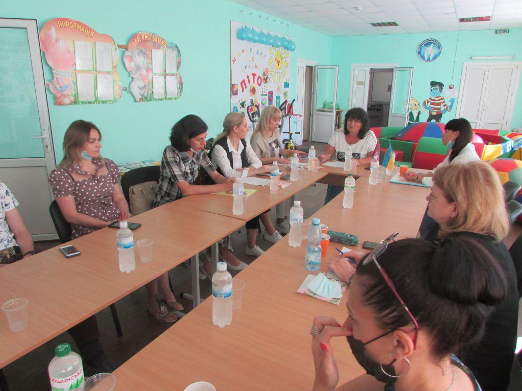 Впровадження послуги раннього втручання у Краматорську. краматорськ, засідання, послуга, раннє втручання, інвалідність