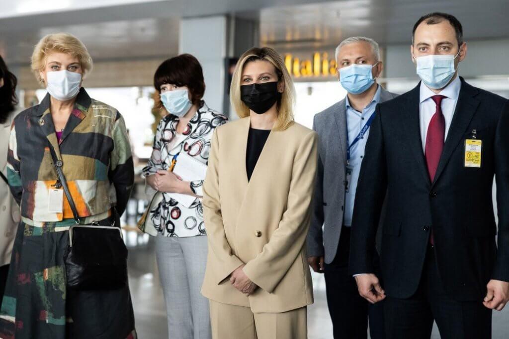 В аеропорту «Бориспіль» за участю першої леді Олени Зеленської відбулася зустріч-діалог щодо розвитку безбар'єрної інфраструктури (ФОТО). міжнародний аеропорт бориспіль, олена зеленська, юнісеф, аудит, доступність