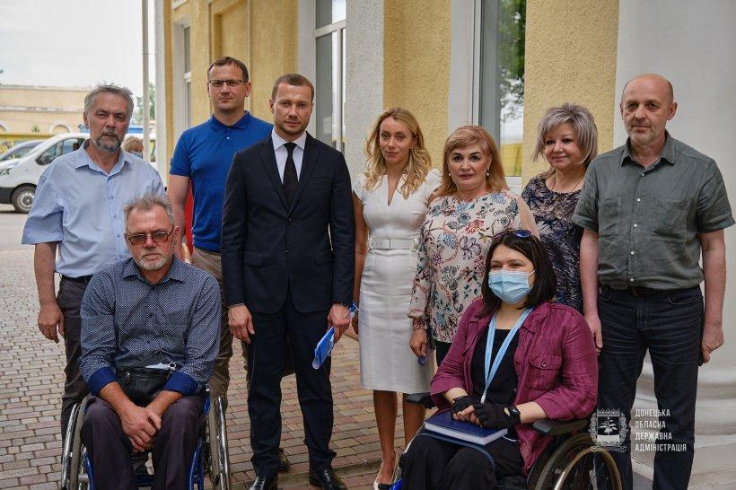 На Донеччині обговорили проблеми «Словкурорту». донеччина, словкурорт, лікування, нарада, інвалідність