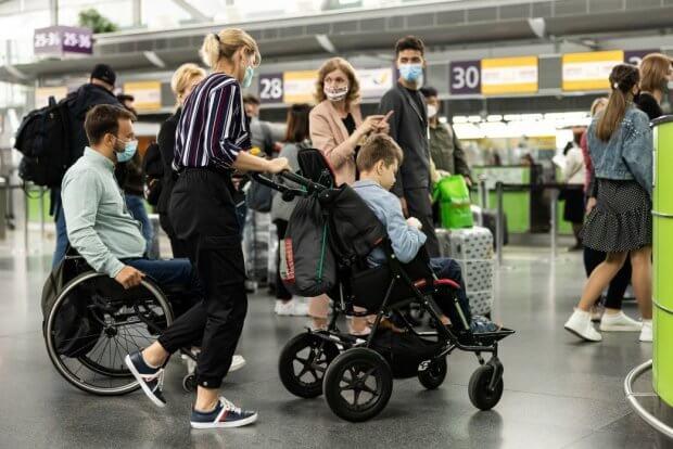 В аеропорту «Бориспіль» за участю першої леді Олени Зеленської відбулася зустріч-діалог щодо розвитку безбар'єрної інфраструктури. міжнародний аеропорт бориспіль, олена зеленська, юнісеф, аудит, доступність