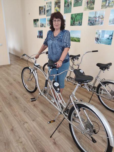Люди с инвалидностью помчат по туристическим маршрутам на велосипедах-тандемах. мелітополь, велосипед-тандем, грант, инвалидность, туристический маршрут