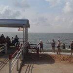 На пляжі для людей з інвалідністю відкрито купальний сезон (ФОТО)
