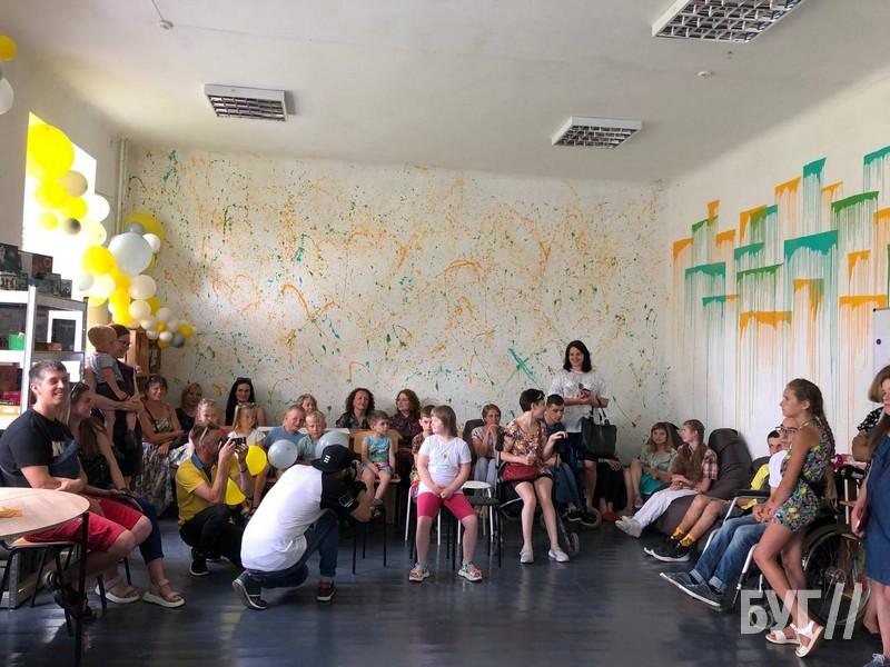 У Нововолинську відкрили простір для навчання та дозвілля молоді з інвалідністю (ФОТО, ВІДЕО). нововолинськ, дозвілля, навчання, простір, інвалідність