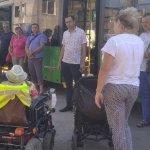 У Житомирі водії тролейбусів та маршруток зустрілися з пасажирами, які пересуваються на візках (ФОТО, ВІДЕО)