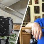 Митець, який надихатиме інших: про черкаського скульптора знімають фільм (ФОТО)