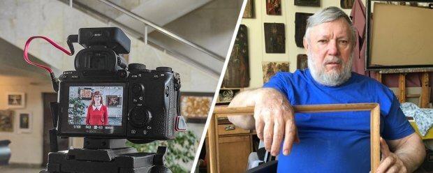 Митець, який надихатиме інших: про черкаського скульптора знімають фільм. микола теліженко, митець, проєкт, фильм, інвалідність