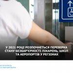 У 2021 році розпочнеться перевірка стану безбар'єрності лікарень, шкіл та аеропортів у регіонах