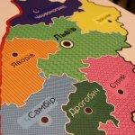 В Українському товаристві сліпих з'явились дві мапи Львівщини зі спеціальним шрифтом Брайля (ФОТО)