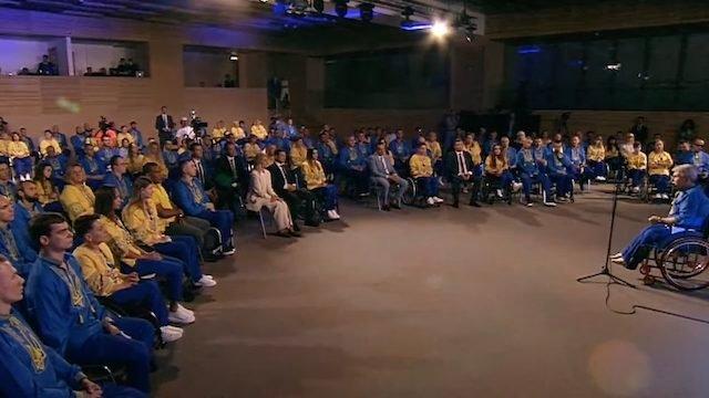 Збірну України провели на Паралімпіаду у Токіо: як це було (ВІДЕО). паралимпиада, паралімпійські ігри, токио, паралімпійська збірна, спортсмен