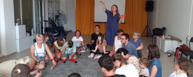 Театральні постановки, музика і перформанси: у Луцьку запрацював інклюзивний табір. луцьк, емоція, спілкування, табір, інвалідність
