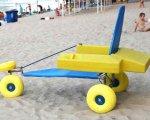 Одесса купит 5 пляжных колясок для людей с инвалидностью — это проект «Общественного бюджета». prozorro, одесса, инвалидность, пляжная коляска, проект