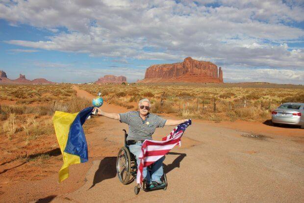 Я об'їхав 63 країни на інвалідному візку. микола подрезан, доступність, подорож, інвалідний візок, інвалідність