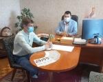 Регіональний представник Уповноваженого у Рівненській області обговорив із заступником міського голови Дубна дотримання прав людей з інвалідністю. дубно, уповноважений, дотримання, робоча зустріч, інвалідність