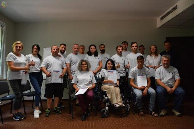 Учасники з Грузії, Молдови, Німеччини та України разом навчалися підприємництву в сфері сільського туризму для осіб з інвалідністю. навчання, проєкт ertsyd2, семінар-практикум, туризм, інвалідність