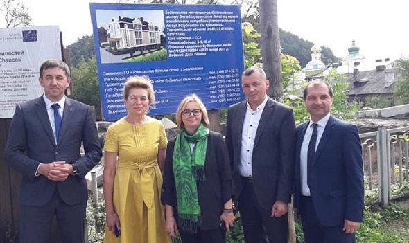 У Кременці збудують реабілітаційний центр для дітей і молоді за понад 600 тисяч євро. кременець, реабілітаційний центр, будівництво, проєкт, інвалідність