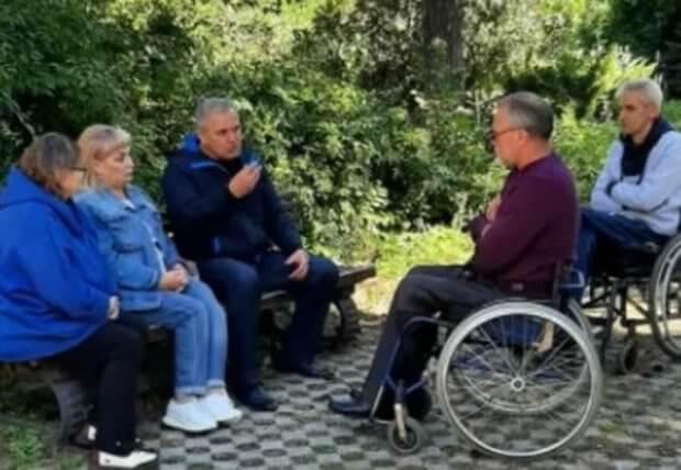 Активисты Славянска намерены добиться возрождения курорта. надежда паламарчук, славкурорт, здравница, инвалидность, санаторий славянский